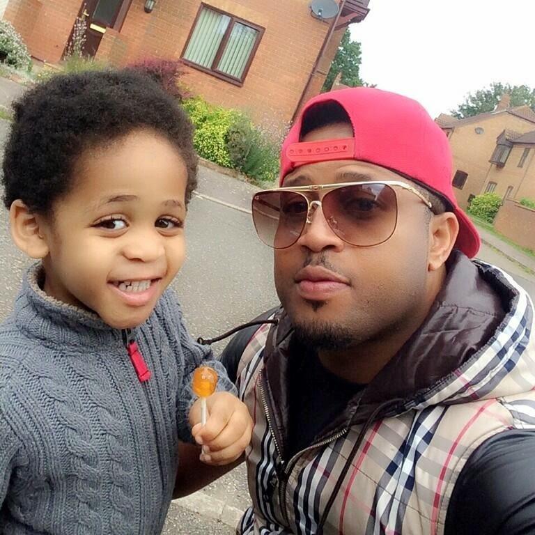Mike Ezuruonye and Son (3)