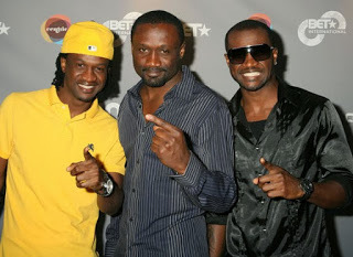 Peter of PSquare and jude 411vibes