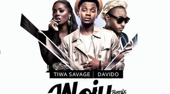 Woju Remix by Kiss Daniel ft Davido & Tiwa Savage - TheInfoNG.com - 650x606