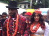 Yobo and wife