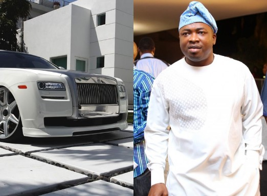 Image result for Oba Elegushi Buys Bulletproof Rolls Royce Gushi