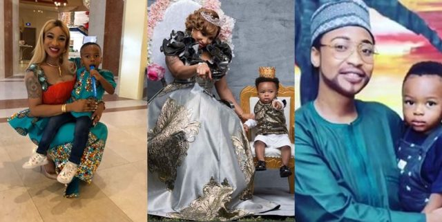 Tonto Dikeh Celebrates Herself On Fathers Day Explains How To Be A Good Father