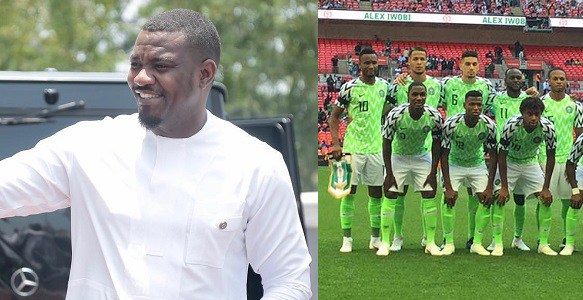 John Dumelo shades the hell out of Super Eagles & Nigerians after their loss to Croatia