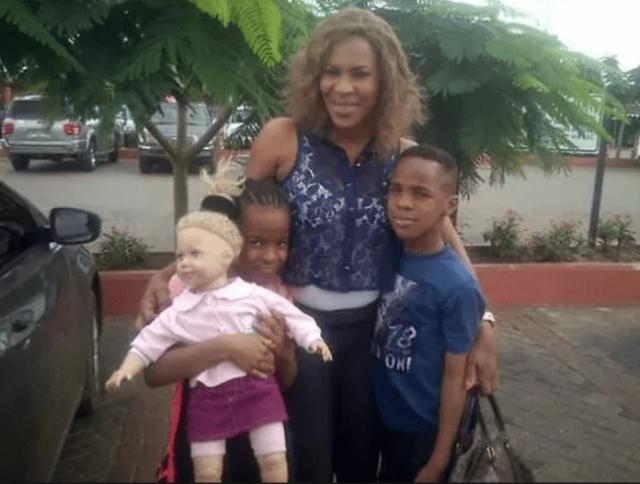 fathia balogun and children