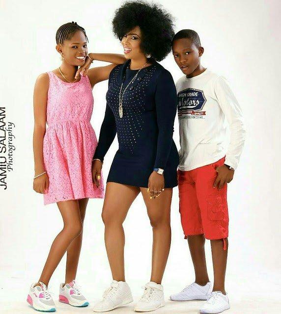 Regina chukwu and children
