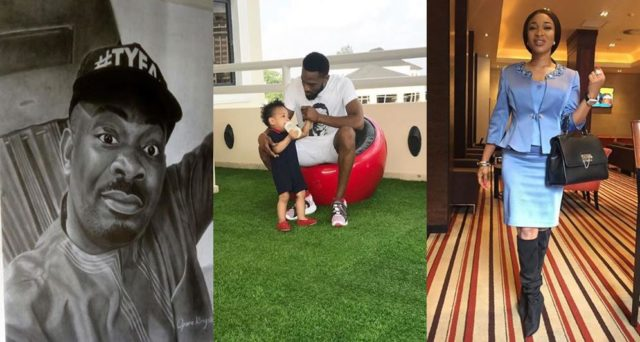 Don Jazzy, Tonto Dikeh, Frank Amudo, others mourn the death of Dbanj's 13-month old son, Daniel
