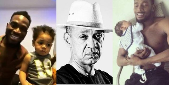 'Death of a child is the saddest thing for any parent' – Senator, Ben Bruce consoles Dbanj