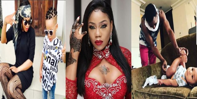 """Stop blaming DBanj's wife""- Toyin Lawani tells Nigerians as she recounts how her son, Tenor, almost drowned in her presence"