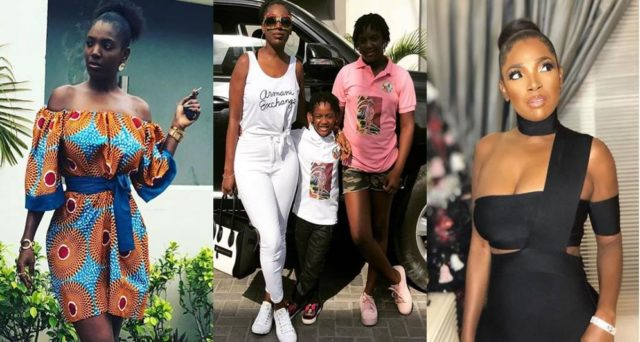 Annie Idibia adopts 2face Idibia's five other kids