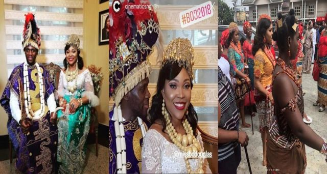 Photos from Olu Jacobs and Joke Silva's son's traditional wedding