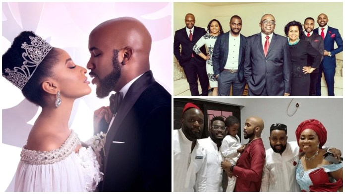 Meet the Lovely Family of Banky W – His Parents, Brothers and Sister, what they do for living and much more (PHOTOS)