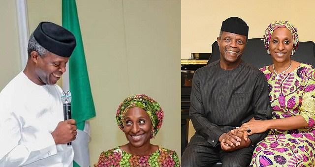 VP Yemi Osinbajo Celebrates his wife with a Lovely Birthday Message