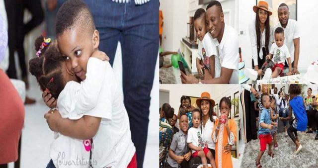 Lilian Esoro and Ubi Franklin reunite for son's birthday party (photos, video)
