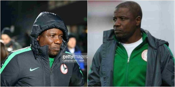 Super Eagles Chief Coach Salisu Yusuf caught taking bribe of N360,000 to select players for tournament