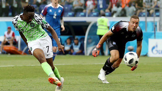 Ahmed Musa 8th best goal World cup
