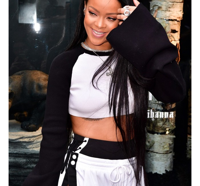 NEW YORK, NY - SEPTEMBER 06: Rihanna attends the Launch of FENTY PUMA By Rihanna at Bergdorf Goodman on September 6, 2016 in New York City. (Photo by James Devaney/GC Images)