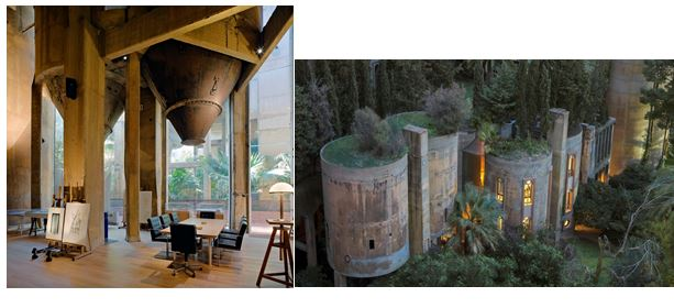 Architect turns old cement factory into his home the interior will take your breath away - Old cement factory turned home ...