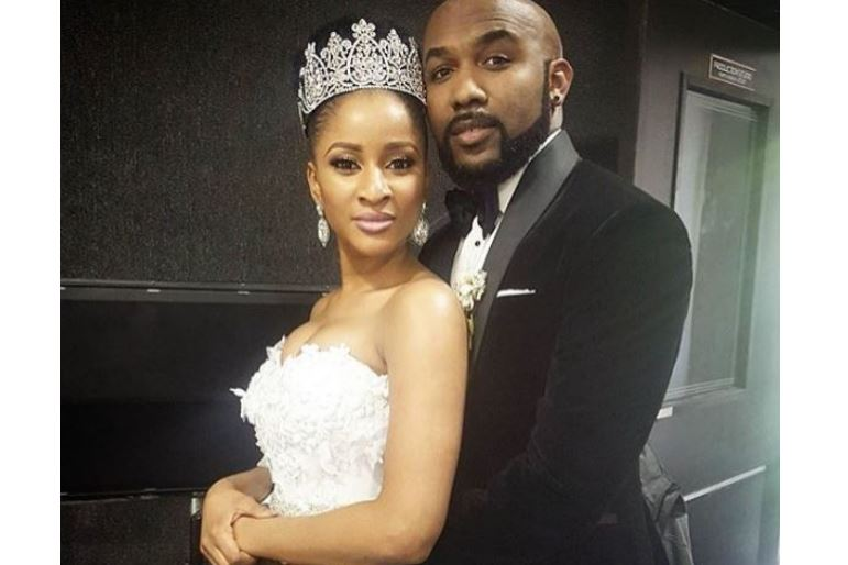 Image result for Actress Adesua Etomi gushes over Banky W