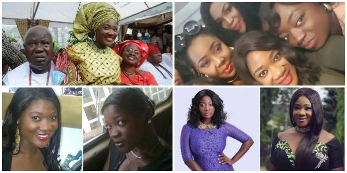 Meet Nollywood actress Mercy Johnson's brothers and sisters