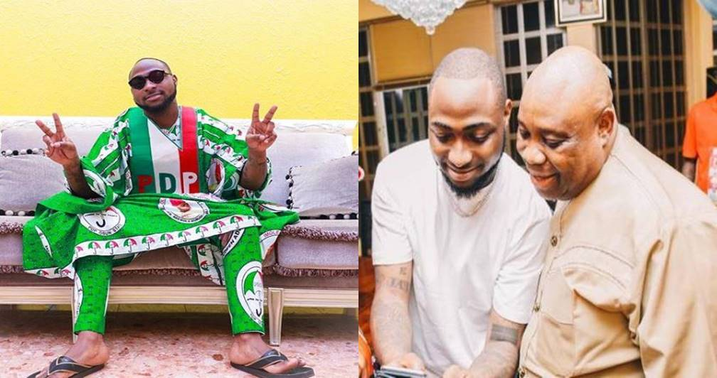 Image result for Davido finally reacts to Osun State election results