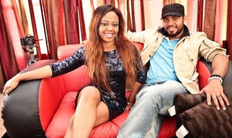 Ramsey Nouah and his wife