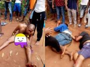 Two men arrested for stealing from a shrine in Anambra state