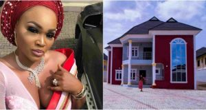 Mercy Aigbe mansion