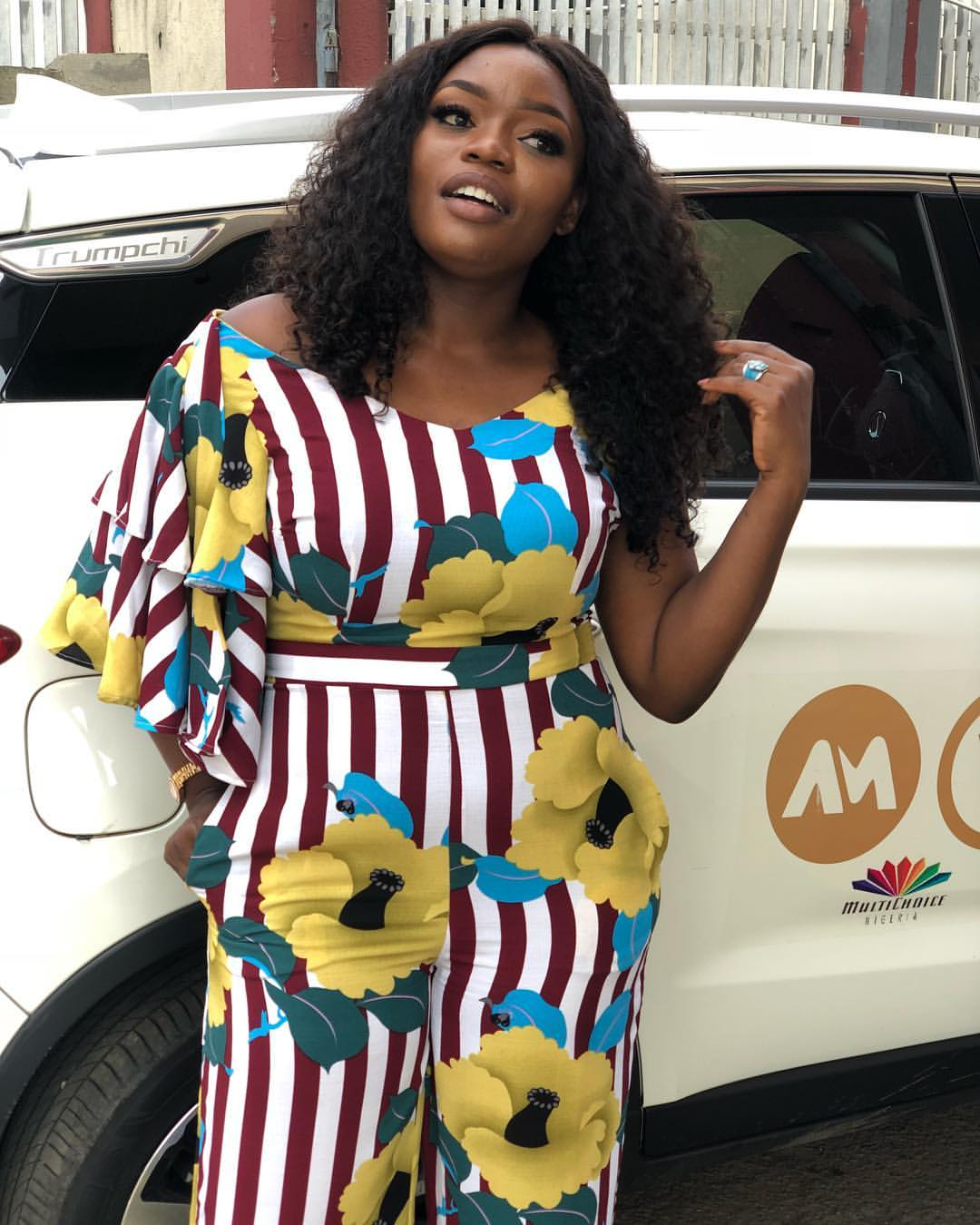 Bisola Aiyeola car