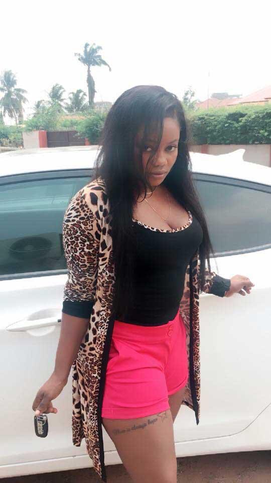 Ghanaian actress nude