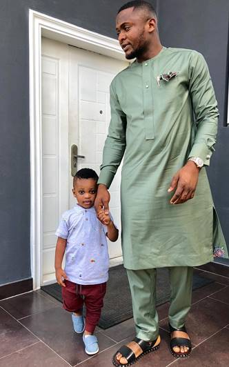 Ubi Franklin and son