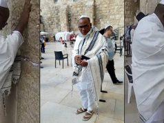 Nnamdi Kanu spotted in Jerusalem