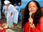Ooni Of Ife's new wife blood ritual