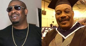 Don Jazzy's dad graduates from Irish Higher Institution