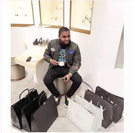 Oluwasanu, the new big boy on Social Media