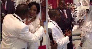 Bride refuses to kiss groom