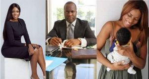 Meet Elizabeth Elohor, the beautiful model Linda Ikeji's baby, Sholaye Jeremy dumped her for