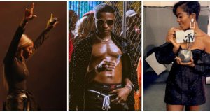Wizkid reacts to Tiwa Savage's MTV award