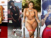 Nigerian female celebrities that lost weight