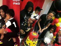 Wizkid's son birthday party