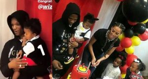 Wizkid's son birthday party