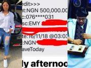 Billionaire E-Money gifts teen actress Regina Daniels with N500,000
