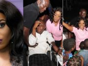 Empress Njamah donates 20 wheel chairs to the less privilege to celebrate her birthday (Photos)