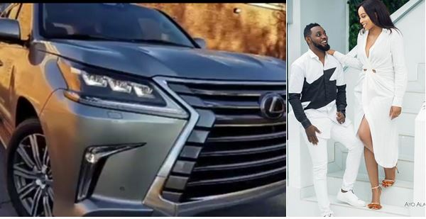 AY surprises wife, Mabel with a brand new Lexus Luxury SUV as wedding anniversary gift