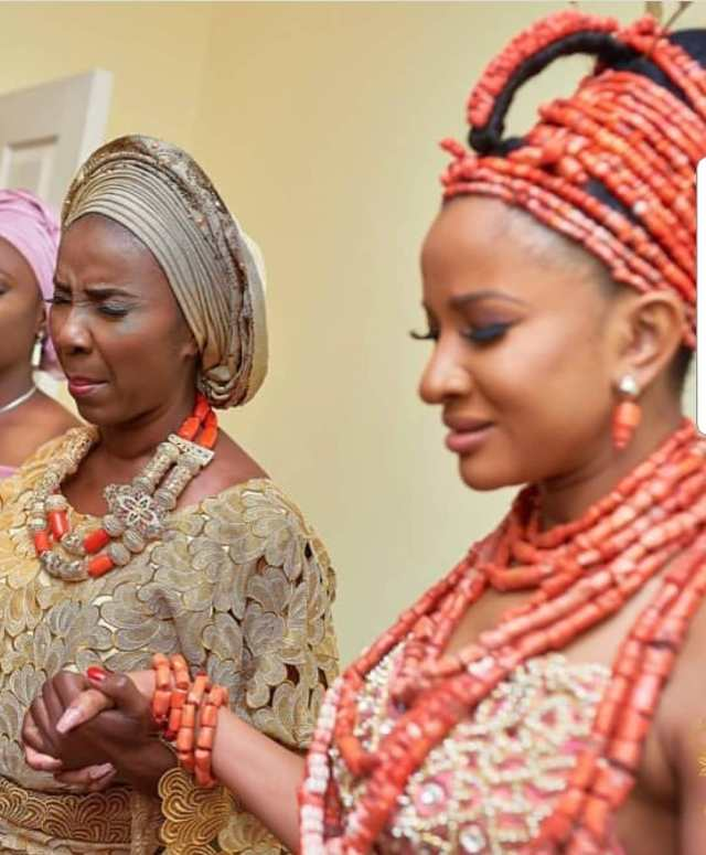Adesua and her mother