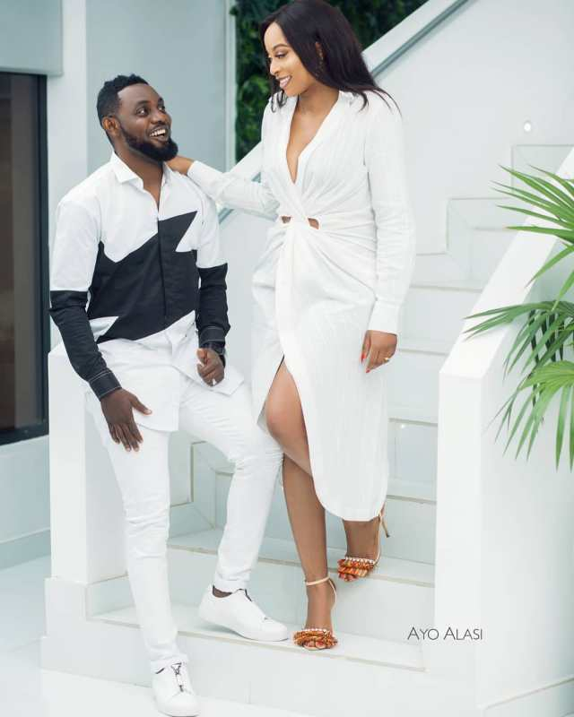 Comedian AY and his family