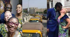 Nigerian man weds his white lover