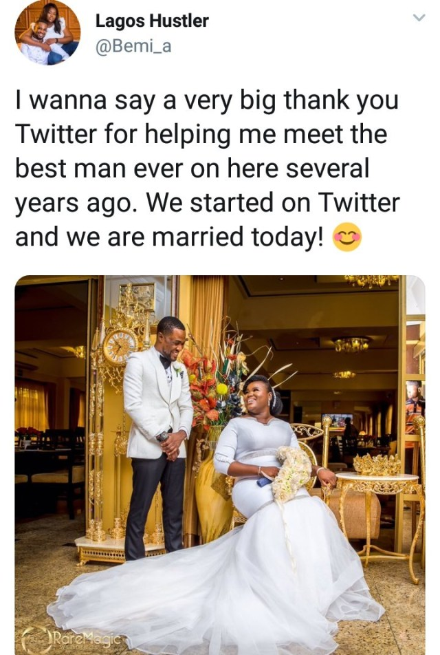 Twitter couple