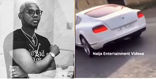 Kiss Daniel buys a brand new Bentley, months after buying a mansion