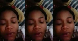 Slay queen rants after a man left her hanging in the bedroom (video)
