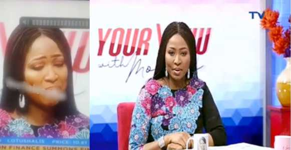 Morayo tearfully apologizes to husband for saying she can't allow him bathe their daughter (Video)